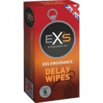 EXS Delay Wipes 6-pack