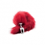 Fox Tail Plug Red