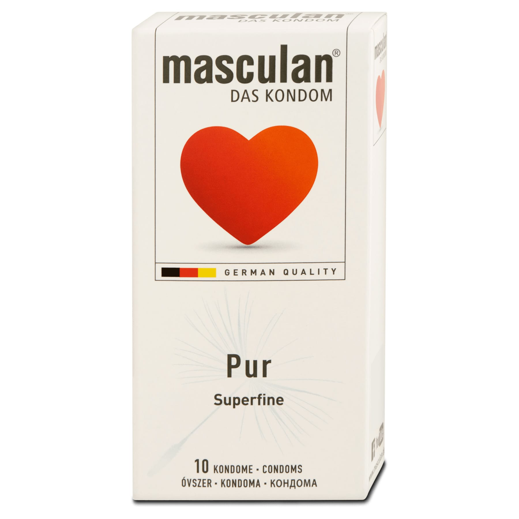 Masculan Pur Superfine 10-pack