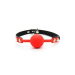 Lockable Ball Gag Red