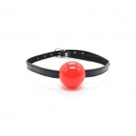 Solid Ball Gag Red