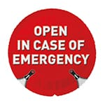 EXS Open in Case Of Emergency 1 st