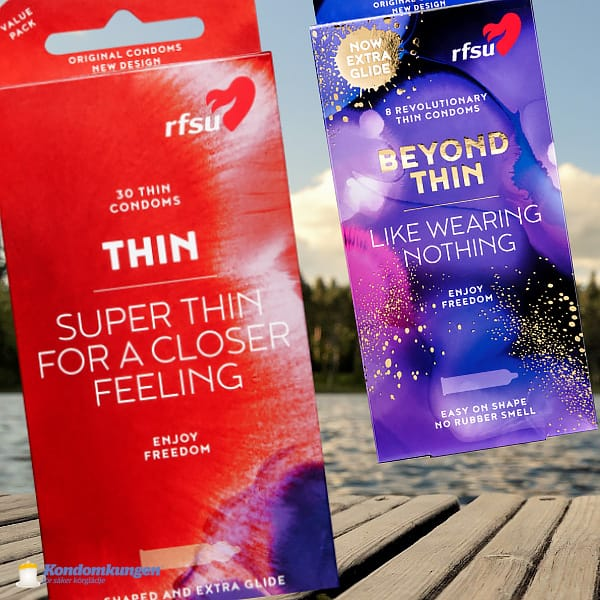 RFSU Thin 30-pack + RFSU Beyond Thin 8-pack